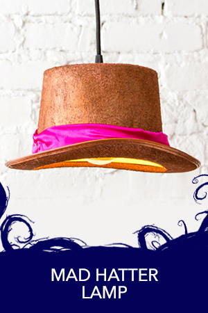 Make a Mad Hatter Lamp!