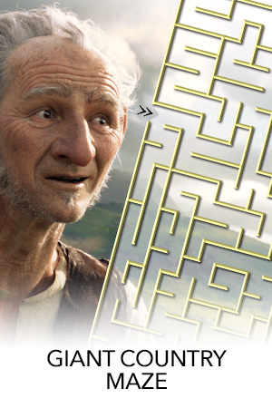 The BFG Country Maze