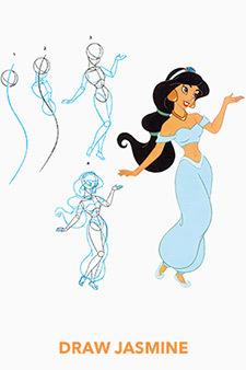 Draw Jasmine