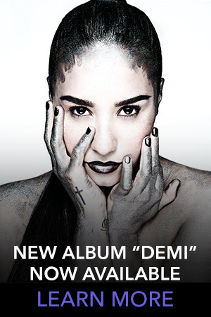 Demi Lovato Slider Thumb - New Album