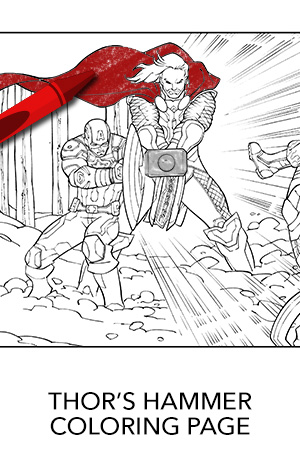 Loki Wand Avondale Style - Coloring Pages | 450x300