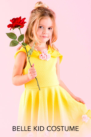 Beauty and the Beast - Belle Kid Costume