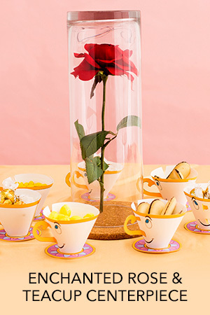 Enchanted Rose & Teacup Centerpiece
