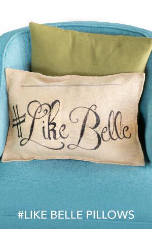 Like Belle Pillows