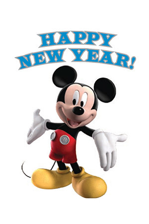 Mickey Mouse Clubhouse New Year Checklist