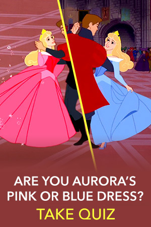 Quiz: Should You Wear Aurora's Pink Dress or Blue Dress?
