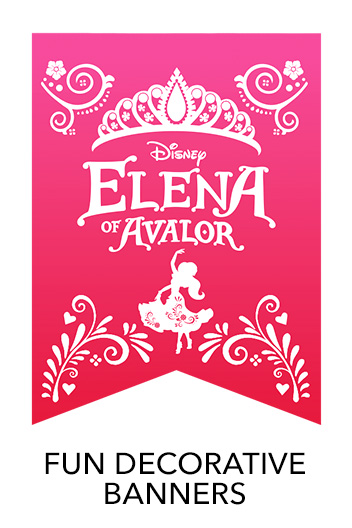 Elena of Avalor - Decorative Banner