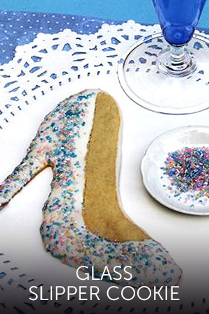 Cinderella Glass Slipper Cookie