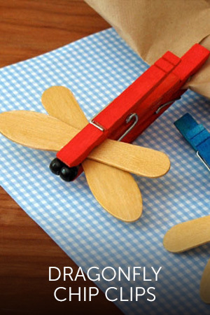 Dragonfly Chip Clips
