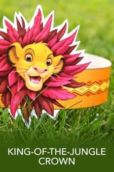 Simba's King-of-the-Jungle Crown