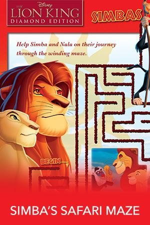 Simba's Safari Maze