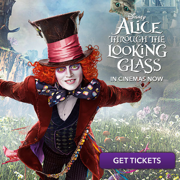 Alice Through the Looking Glass More Disney Square - ID