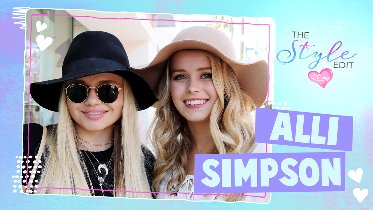 The Style Edit - Style Challenge With Alli Simpson