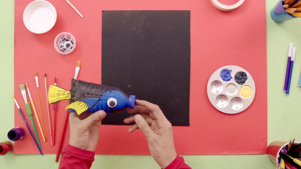 ตัวอย่างเอพิโสด 1 - Finding Dory จากขวดน้ำ   Art Attack #Showmeyourart