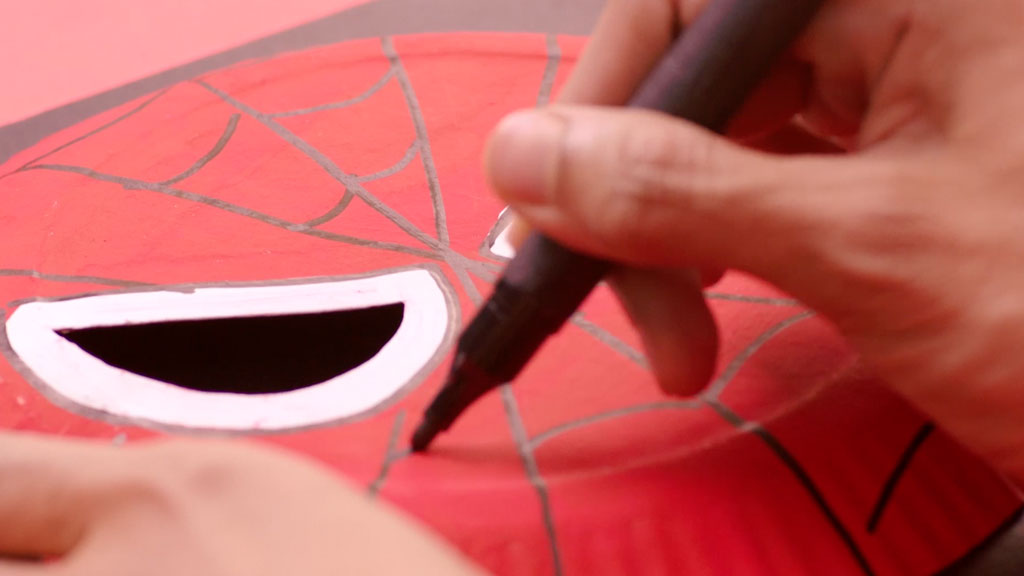 Teaser Episode 4 - Spiderman Mask   Art Attack #Showmeyourart