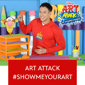 Art Attack #Showmeyourart Web Series Mini Hero - SG Wide