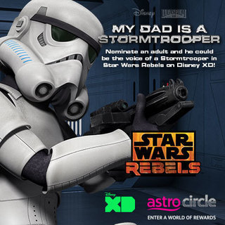 Nominate an adult to voice as a Stormtrooper now.