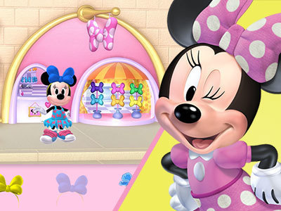 Minnie's Bow-Toons Dress Up