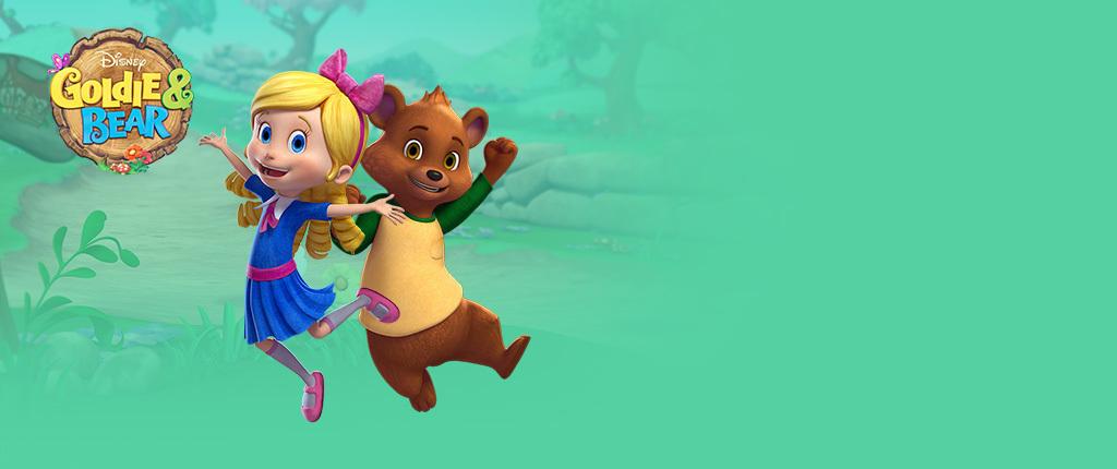 Goldie Amp Bear Activities Disney Australia Disney Junior