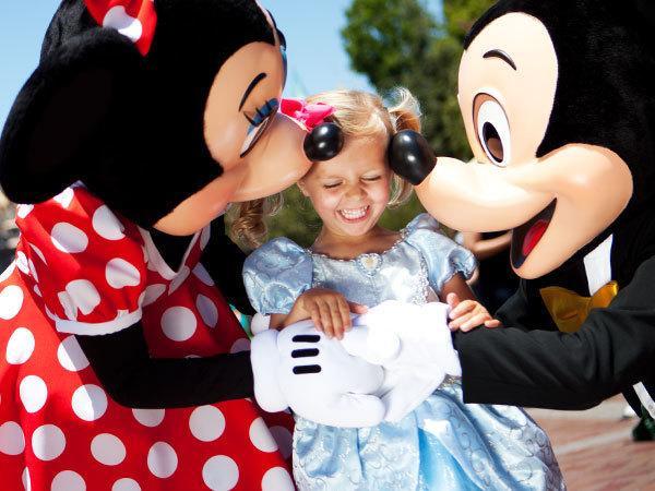 Disneyland Character Gallery