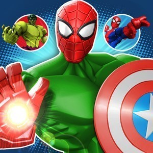 Mix + Smash: Marvel Super Hero Mashers