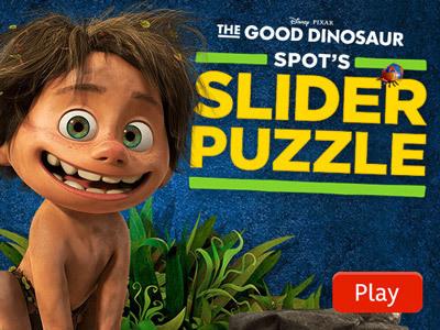 Spot's Slider Puzzle