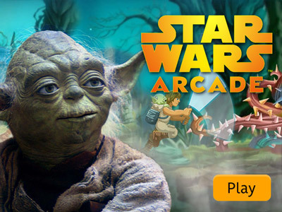 Star Wars Arcade: Yoda's Jedi Training