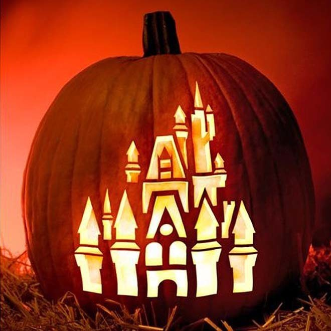 Cinderella's Enchanted Castle Pumpkin