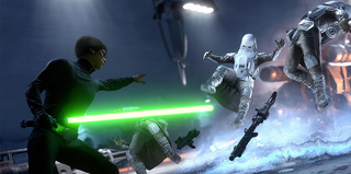 Play Star Wars Battlefront at EB Expo