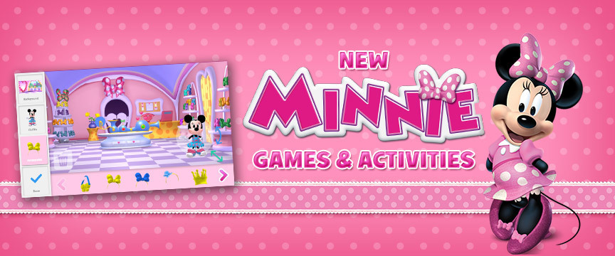 Join Minnie for Bow-filled fun!