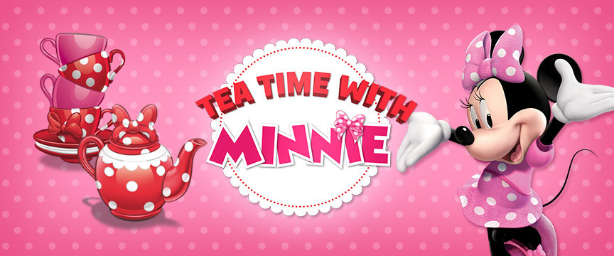 It's Tea Time with Minnie