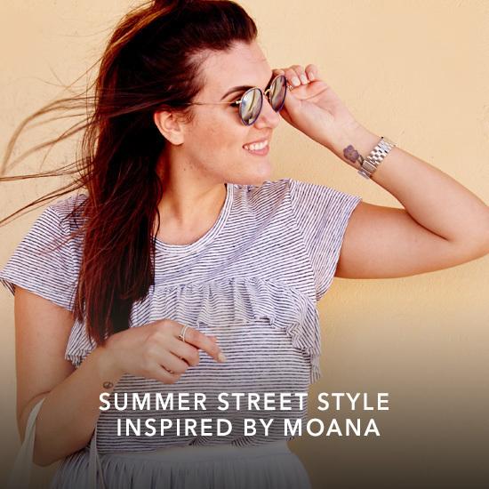 Moana - Disney Street Style Article