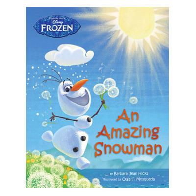 An Amazing Snowman Frozen $6.95