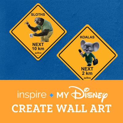 Zootopia - Inspire wall art