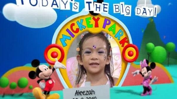Disney Junior Birthday Book September Album 4