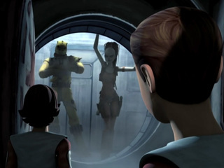 Aurra and the Clone Cadets