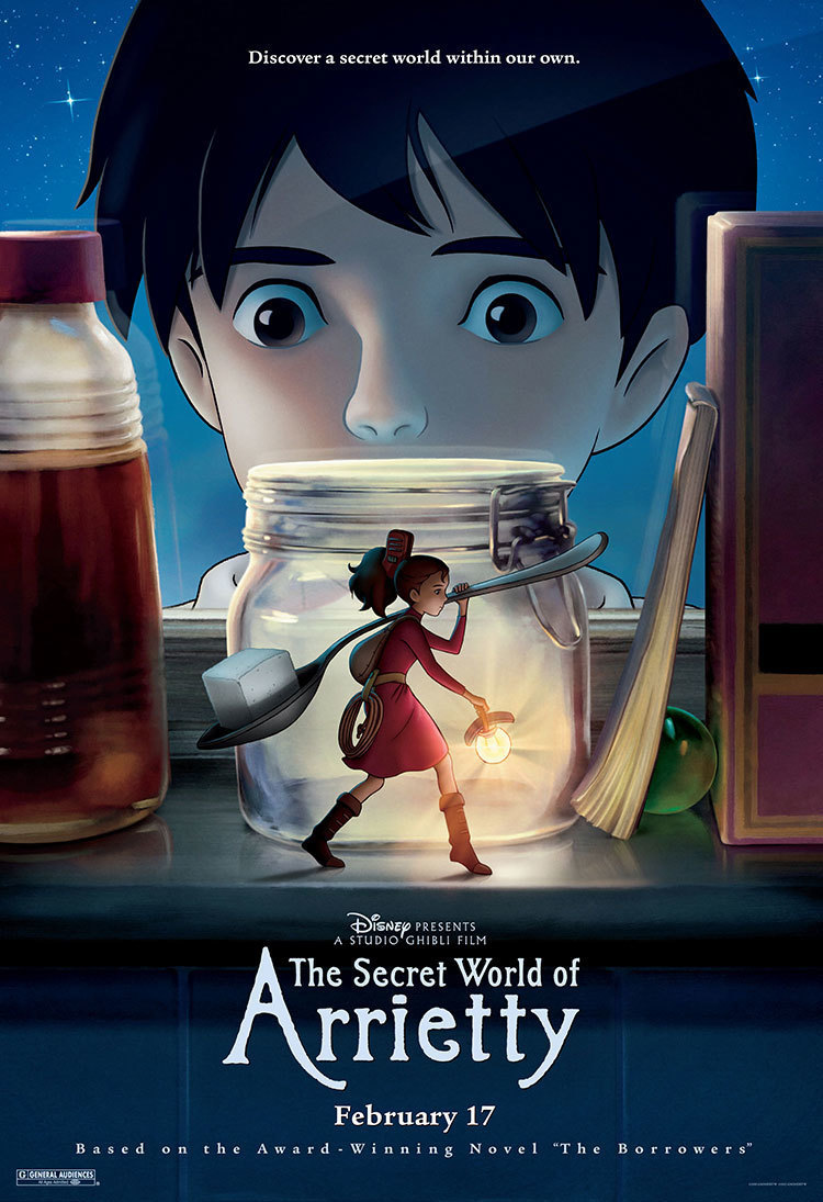 Resultado de imagen para THE SECRET WORLD OF ARRIETTY