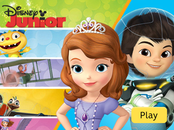 Disney Junior Games