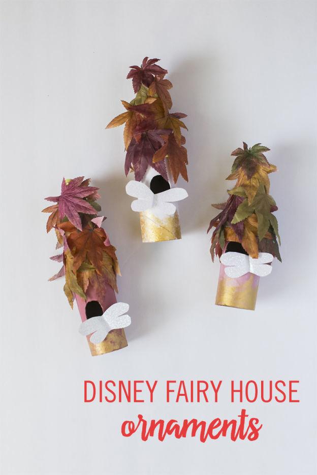 Babble Disney Fairy House Ornaments