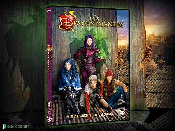 ¡Ya en DVD! Disfruta de la nueva generación de Villanos Disney