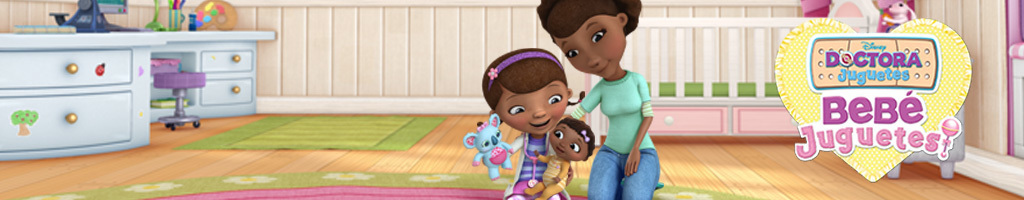 Doc Mcstuffins on-air promotion - Homepage Hero DJR