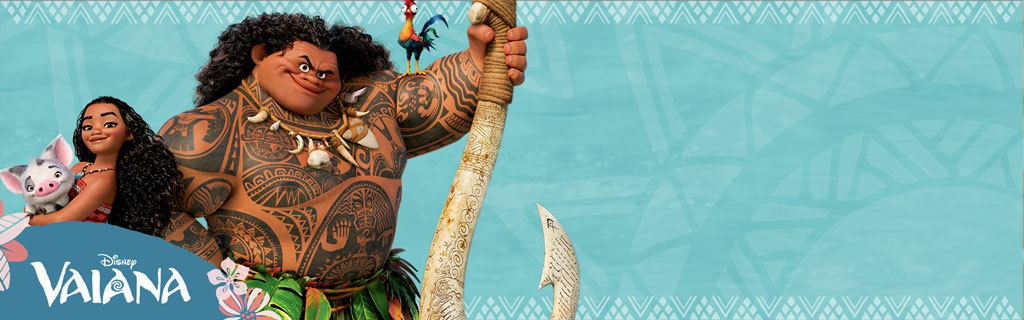 Static Hero - Moana - Movies Homepage