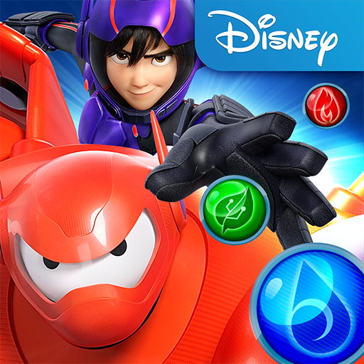 big hero 6 games on disney channel