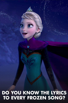 Do You Really Know the Lyrics to Every Frozen Song?