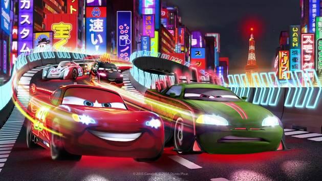 Tokyo Neon Update - Cars: Fast as Lightning App Trailer