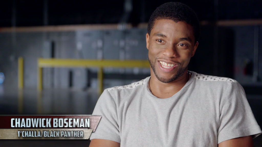 The Making of Captain America: Civil War – Choosing The Black Panther