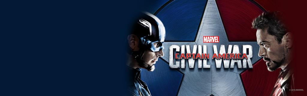 Captain America Civil War At Home - SG