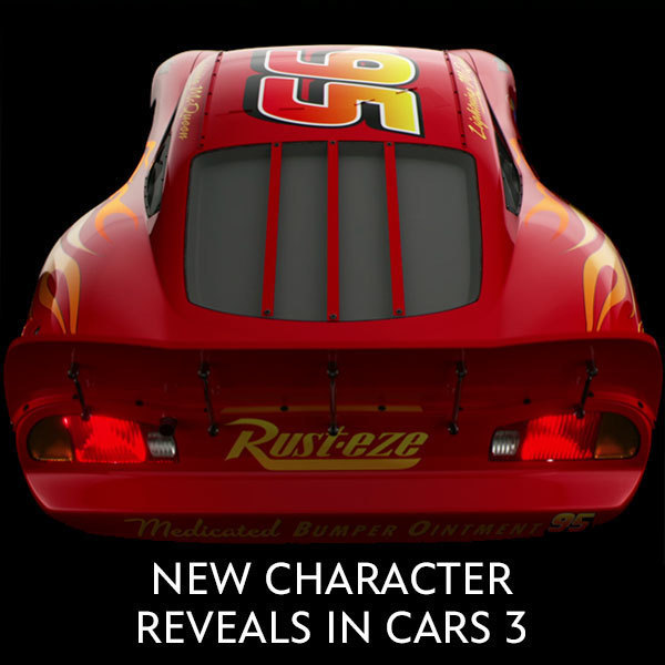 Cars 3 Character Reveals - SG