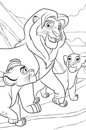 additionally Butterfly Mask as well Lion King Scar And His Son The Coloring Page further Coloriage Disney likewise Simiba Und Hippo. on lion king nala coloring pages