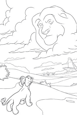 The Lion Guard Colouring Sheet 4